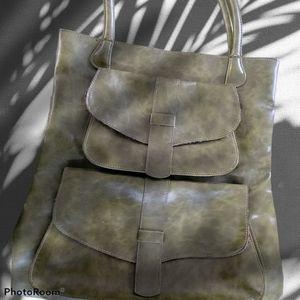 Sabina New York leather shoulder bag